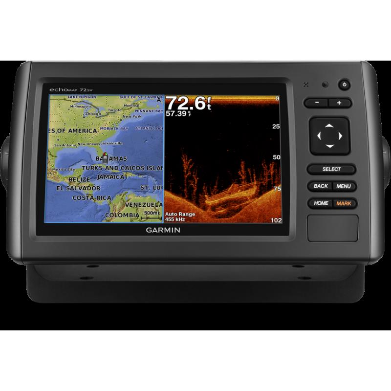 echoMap 72sv without transducer
