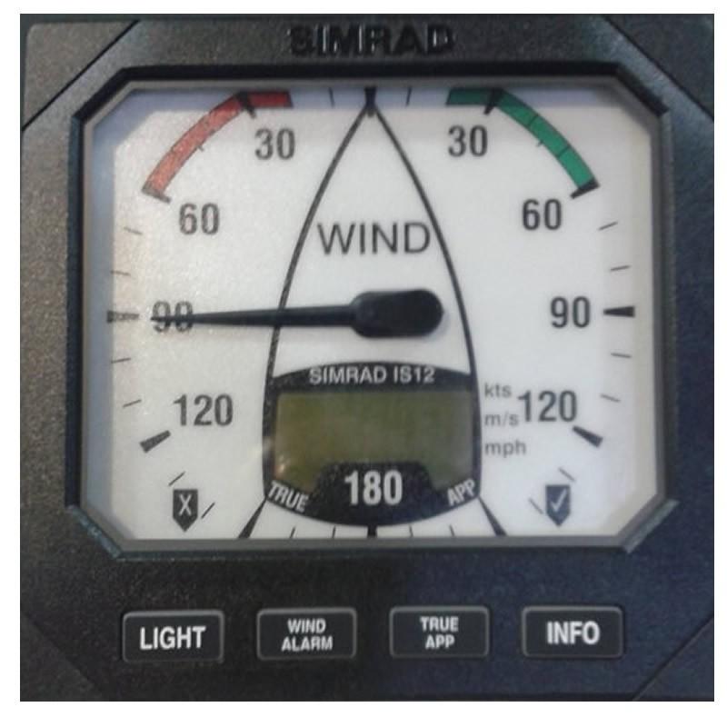 Equipo de viento Simrad IS12