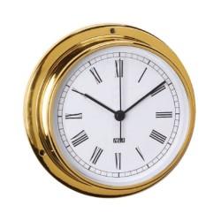 Reloj latón pulido 95mm