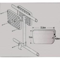 Lalizas rail mount motor bracket