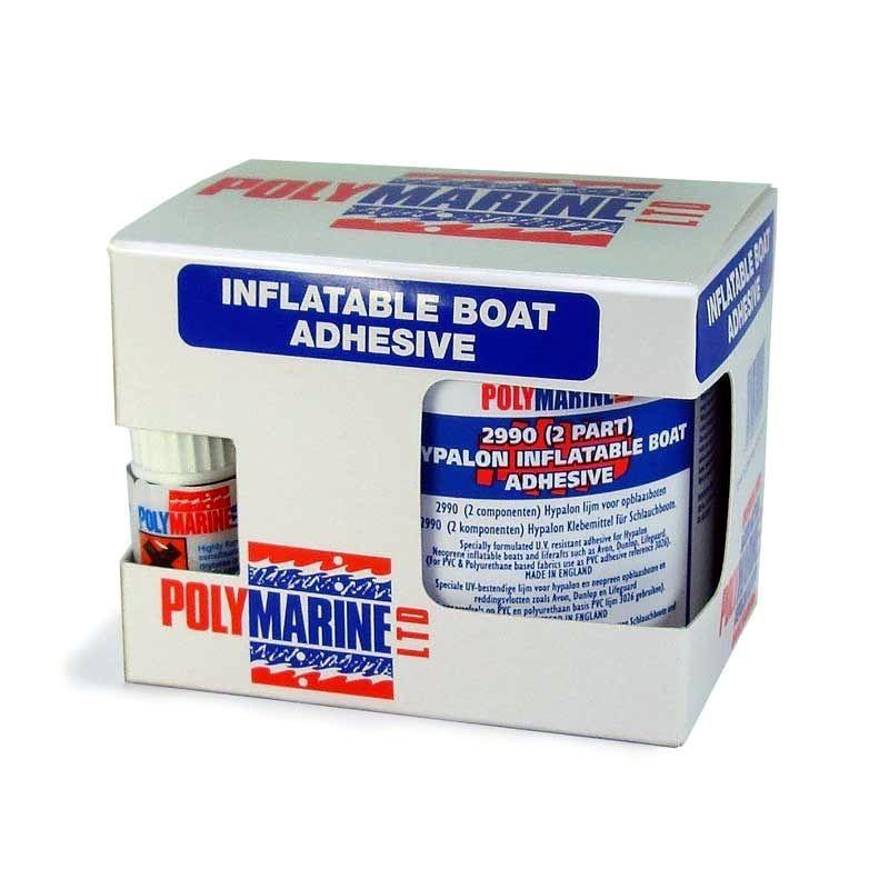 Adhesivo neumáticas hypalon kit 250ml Polymarine